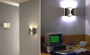 hive modern foglio wall light with lamp flos ambientedirect com and 2 none
