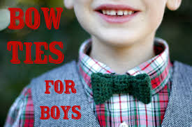 crochet bow ties for boys skip to my lou