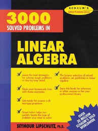 3000 solved problems in linear algebra buy 3000 solved problems