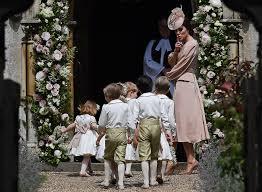 Pippa Wedding Kate Middleton Wore A Blush Dress To Pippa U0027s Wedding And It U0027s