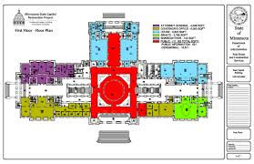 us senate floor plan index minnesota capitol restoration occupancy floor plan 1st fl idolza