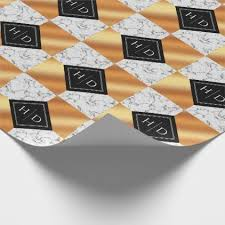 copper wrapping paper marble and copper squares wedding wrapping paper luxury