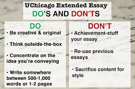 university admission essay sample how to get into university of chicago admissions requirements dosdontsuchicago