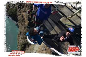 New Zealand Chair Swing Rishabh Shirgaokar Shotover Canyon Swing