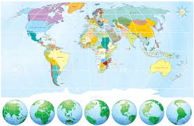 world map political with country names free detailed world map with all names of countries and capitals