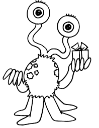 toy story alien coloring page hairy monster coloring pages coloring pages strawberry finch