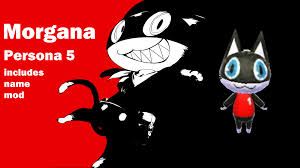 Animal Crossing Flags Morgana Persona 5 Animal Crossing New Leaf Skin Mods