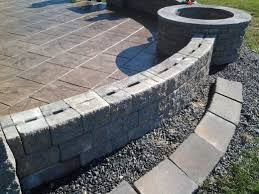 How To Build Fire Pit On Concrete Patio How To Build A Gas Fire Pit Dengarden