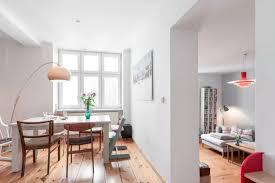 esszimmer im wohnzimmer helles esszimmer mit blick ins wohnzimmer in berliner