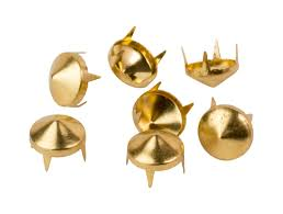 gold studs mjtrends cone studs black medium