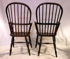 High Back Settee With Arms 18th Century Set Of Eight High Back Windsor Dining Chairs With