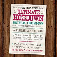 Sweet 16 Photo Invitation Cards Vintage Hoedown Invitation Country Western Printable 15 00