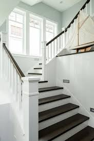 Banister On Stairs White Staircase Spindles Design Ideas