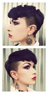 bi layer haircuts over the ears 187 best undercut images on pinterest short hair hair cut and