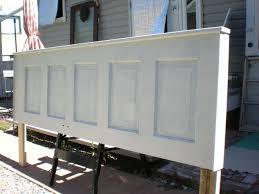 Headboard From Old Door by Turn An Old Door Into A Gorgeous Headboard Hometalk