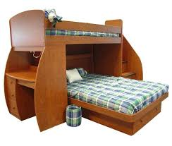 Kids Bunk Bed Desk 24 Designs Of Bunk Beds With Steps Kids Love These