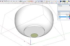 turn a pad foot leg in the queen anne style u2026 in sketchup