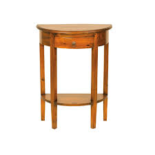 Mahogany Village Half Round Console Table Console Tables Glasswells