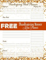 the 25 best thanksgiving menu planner ideas on