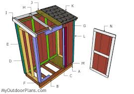 How To Build A Lean To Shed Plans by 3x6 Lean To Shed Plans Myoutdoorplans Free Woodworking Plans