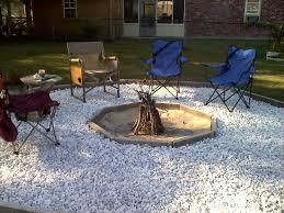 Gravel Fire Pit Area - fire pit gravel best interior design ideas