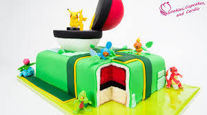how to make a pokemon go cake pikachu pokeball cake