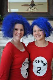 thing 1 u0026 thing 2 halloween costumes heidenreich family december 2010