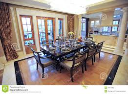 beautiful dining room in a mansion stock photography image 23472962