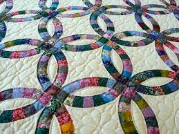 wedding ring quilt for sale amish handmade and patchwork quilts for sale amish spirit
