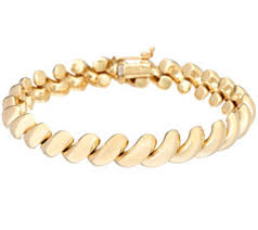 yellow gold bracelet with pearls images Eternagold bracelets jewelry 001