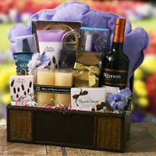 Spa Gift Baskets For Women Spa Gift Basket Ideas For Woman From The Heart Trips Gifts And