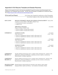 Achievements Resume Examples by Writing Mba Resumes
