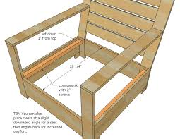 Wood Lounge Chair Plans Free by Ana White Bristol Outdoor Lounge Chair Diy Projects