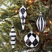 beautiful black u0026 white christmas decor collection on ebay