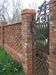Brick Fence And Column Designs A Quick Planning Guide - Brick wall fence designs
