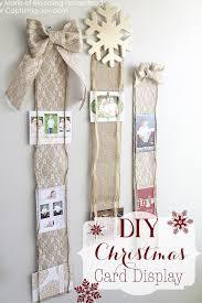 christmas card holder 21 diy christmas card holder ideas how to display christmas cards