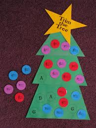 christmas tree light game trim the tree game could be a great group activity spin off light