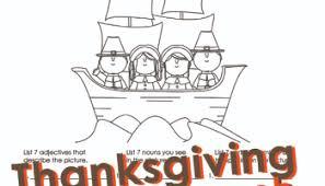 thanksgiving parts of speech worksheet squarehead teachers