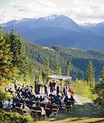 colorado mountain wedding venues jaw breaking mountain weddings