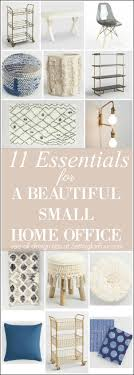 design essentials home office 11 essentials to create a beautiful small home office setting for four