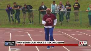 100 year old woman shatters 100 meter dash record in chesnee youtube