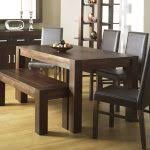 Rectangle Kitchen Table Perfect Nice Rectangle Kitchen Table With Bench Rectangle Dining