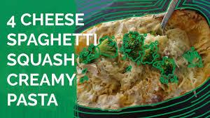Free Dinner Ideas Grain Free Dinner Ideas 4 Cheese Spaghetti Squash Creamy Pasta