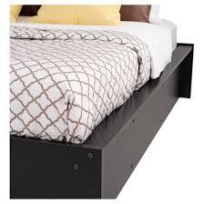 Target Platform Bed District Platform Bed Queen Washed Black Prepac Target