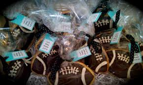 football favors cookies
