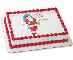 Christmas Cake Decorations Santa by Christmas Cake Decorating Supplies Cakes Com