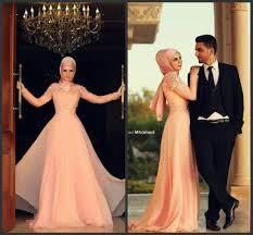 online shop muslim evening dresses long sleeve high neck modest