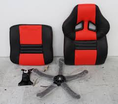 Gaming Chair Leather New Arozzi Monza Red U0026amp Black Synthetic Leather Adjustable