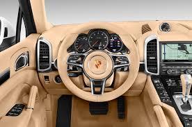 porsche cayenne rating 2016 porsche cayenne steering wheel interior photo automotive com