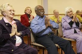 Armchair Yoga For Seniors August 2014 Long Term Care Leader